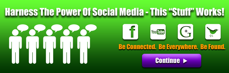 Promote Your Business With Social Media - Facebook, YouTube, Google +, Twitter
